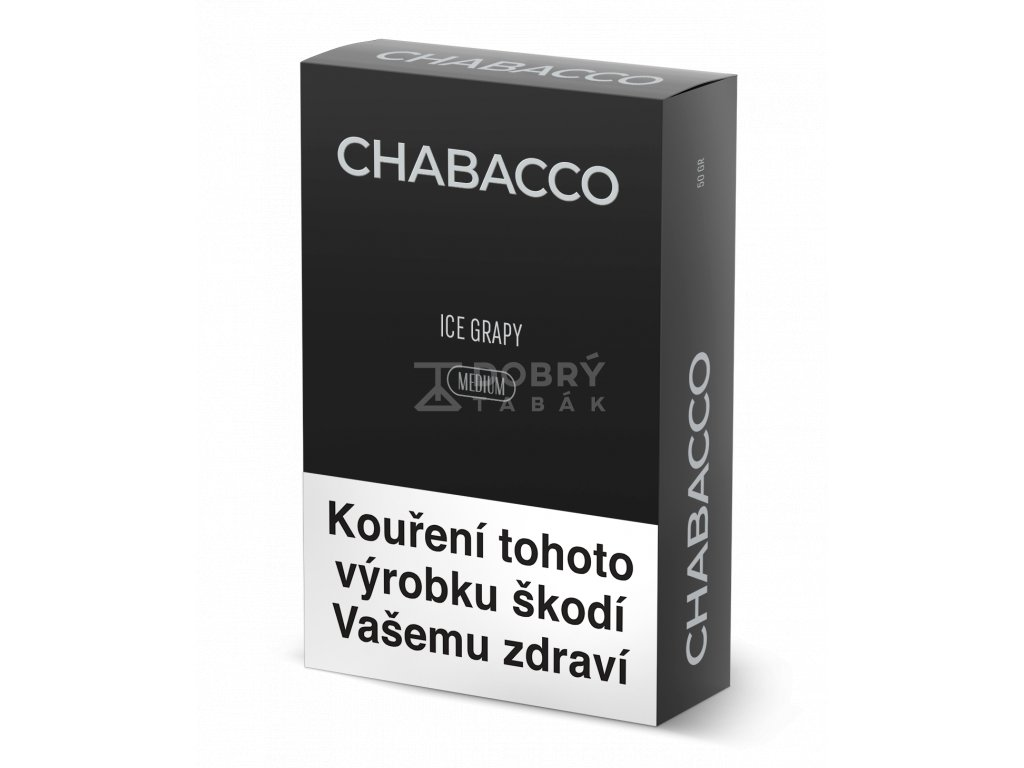 chabacco ice grapy medium