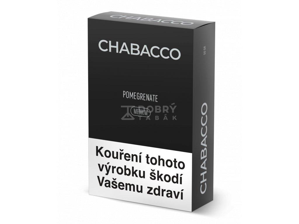 chabacco pomegrenate medium