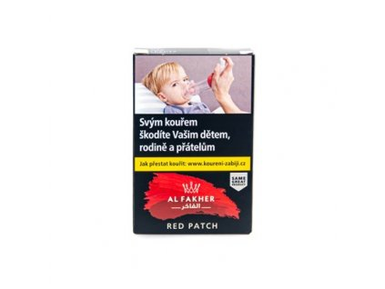 alfakher red patch 50g